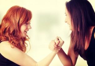 Hands fight