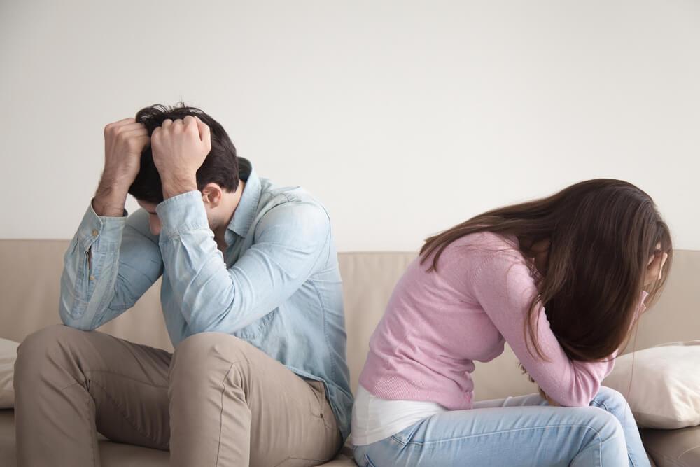 夫婦(婚姻)関係 破綻