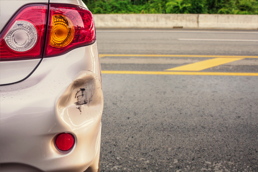 駐車場事故特有の問題―駐車中の当て逃げ