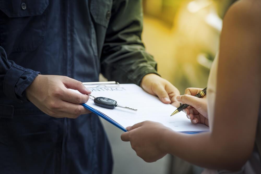 レンタカー会社の補償制度について
