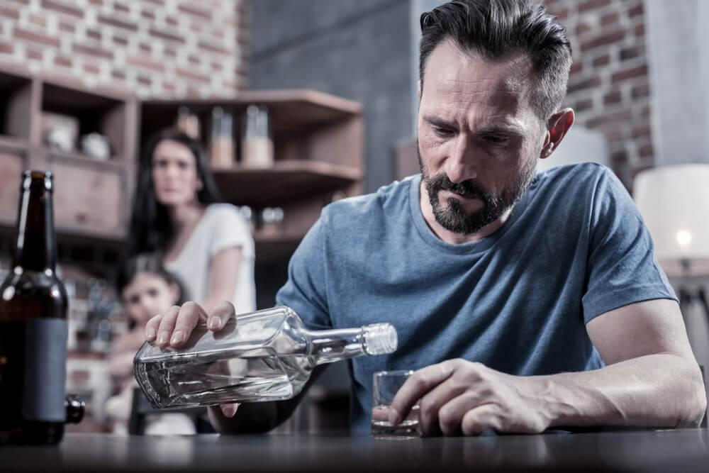 夫のアルコール依存症の進行度