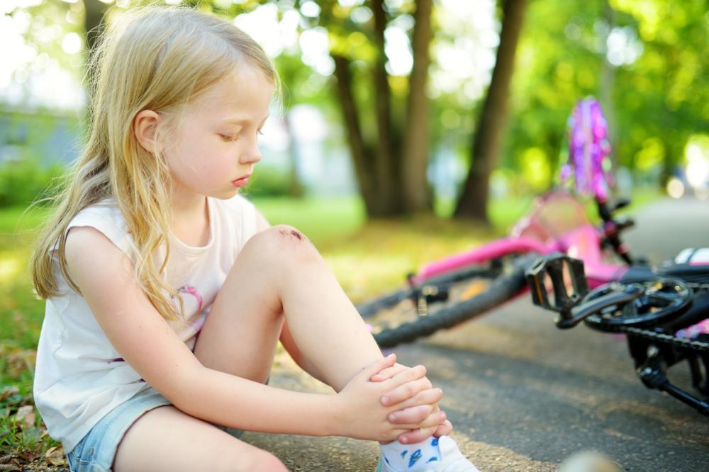 よくある子ども乗せ自転車による事故事例