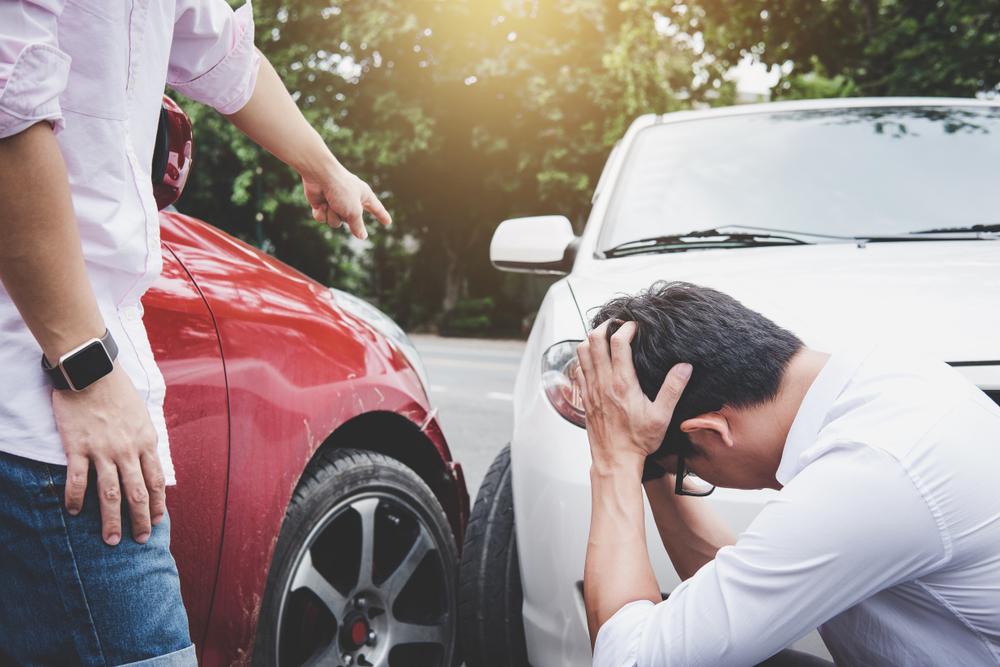 自分が無過失の事故の場合の注意点