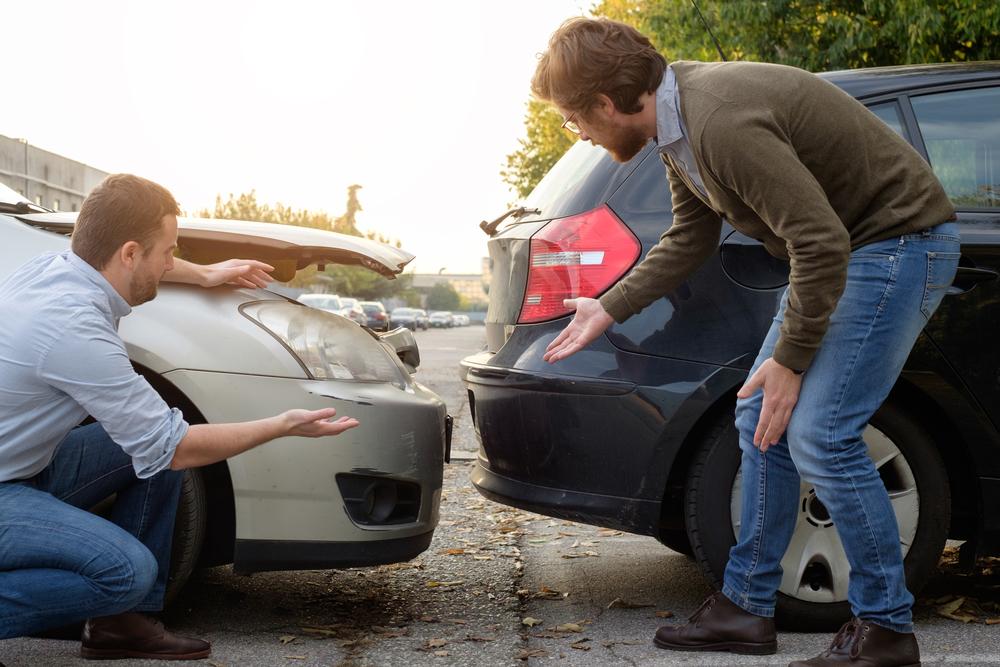加害車両が任意保険未加入の物損事故