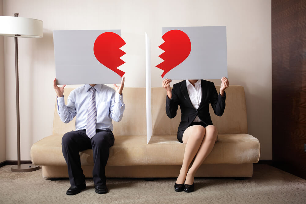 離婚後も同居する家庭内別居もある