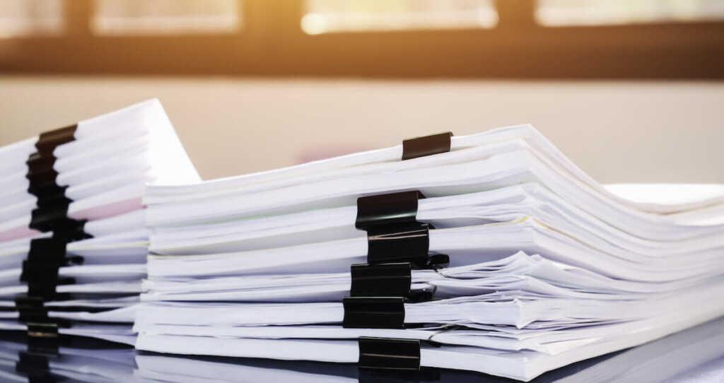 個人再生するために準備しておくべき書類