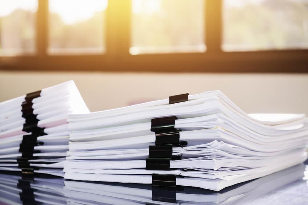 早く免責を受けるには早く書類を集める