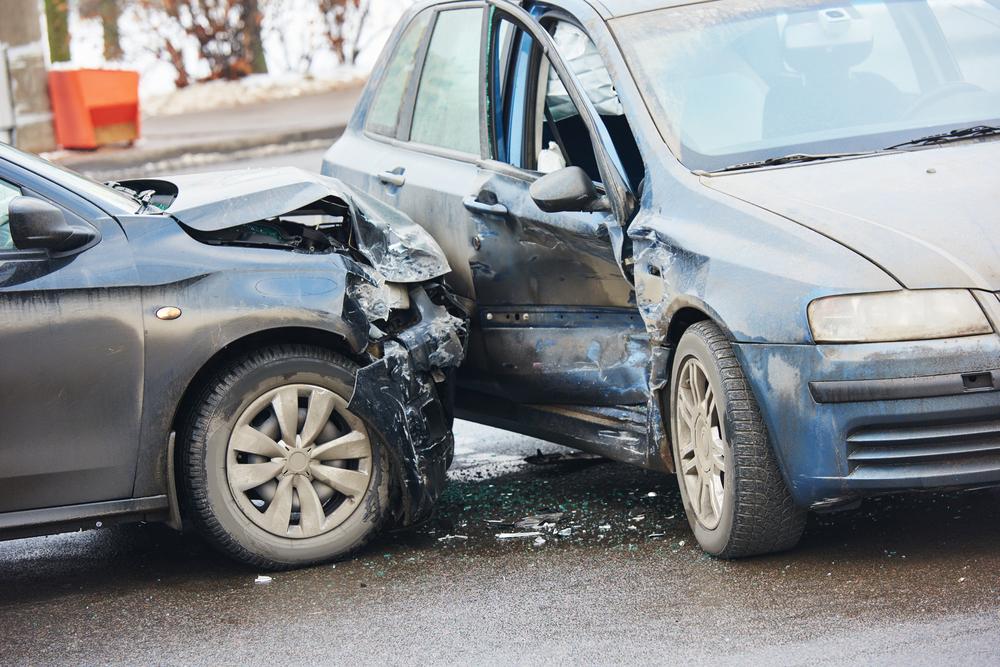 一時停止規制のある交差点における自動車同士の衝突(出合い頭)事故の過失割合