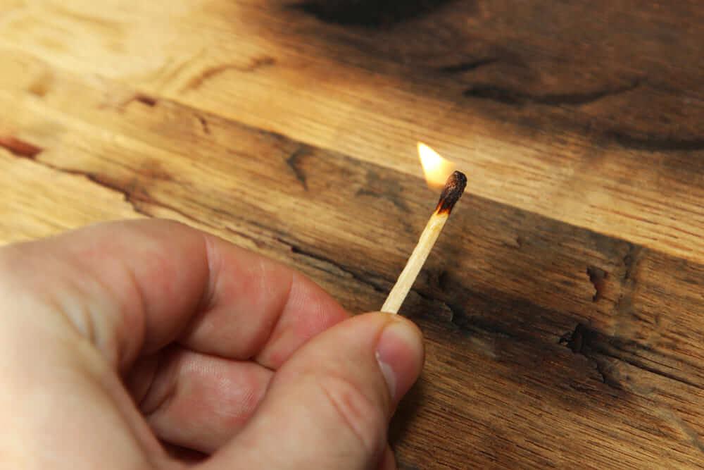 失火と放火