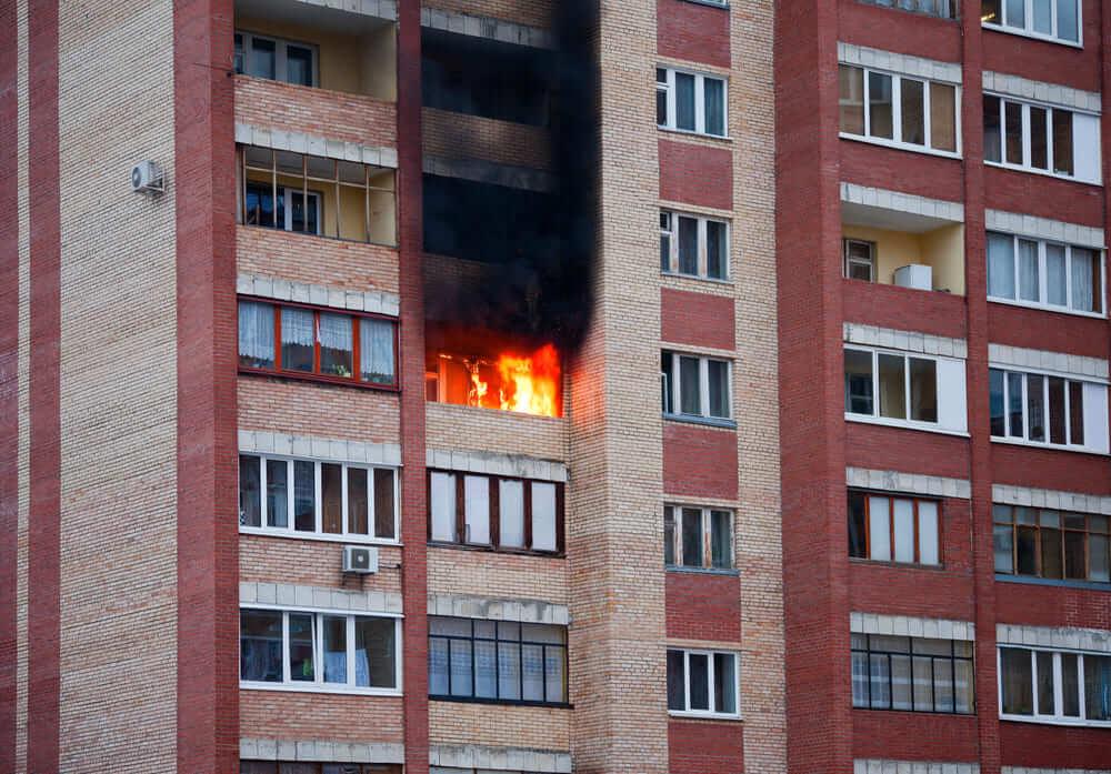 失火での民事責任~失火により賃貸マンション、アパートを焼損した場合