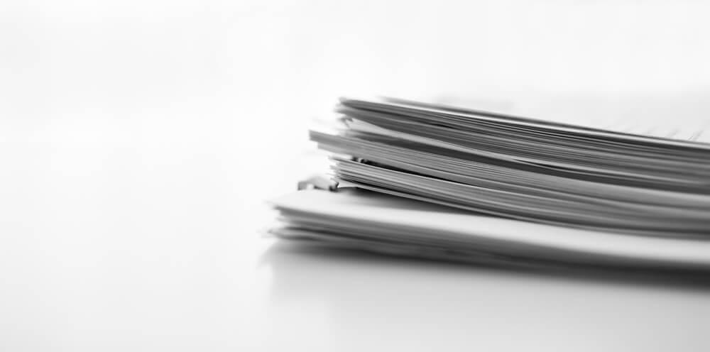 離婚届を提出するときの必要書類